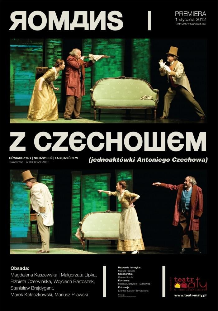 Plakat Romans z Czechowem